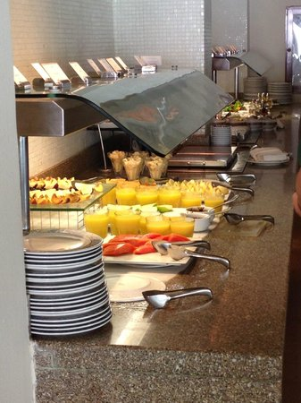 Sun Palace: just one small portion of breakfast buffet