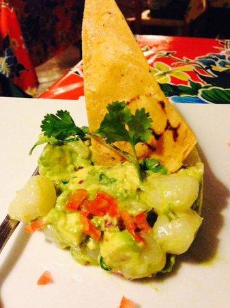 Restaurant El Arrayan: Scallop ceviche was amazing!