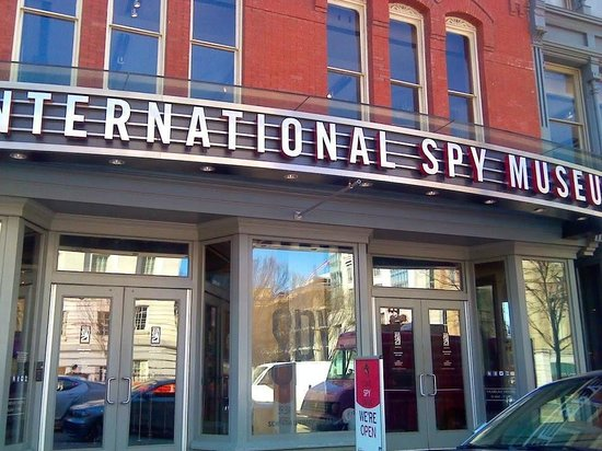 International Spy Museum : Entry to the Spy Museum