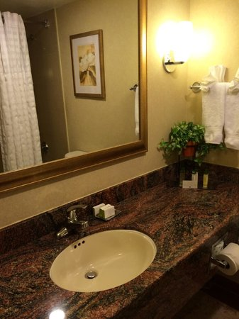 DoubleTree by Hilton Hotel Fort Lee - George Washington Bridge: sink