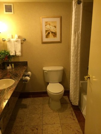 DoubleTree by Hilton Hotel Fort Lee - George Washington Bridge: bathroom