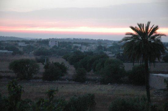 Villa Juba: la tombée de la nuit