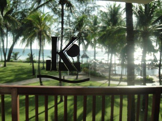 Katathani Phuket Beach Resort : Vista do quarto