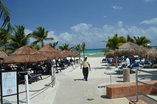 Viva Wyndham Maya: diretto sulla spiaggia