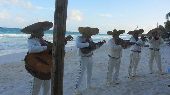 Las Ranitas Eco-boutique Hotel: mariachi