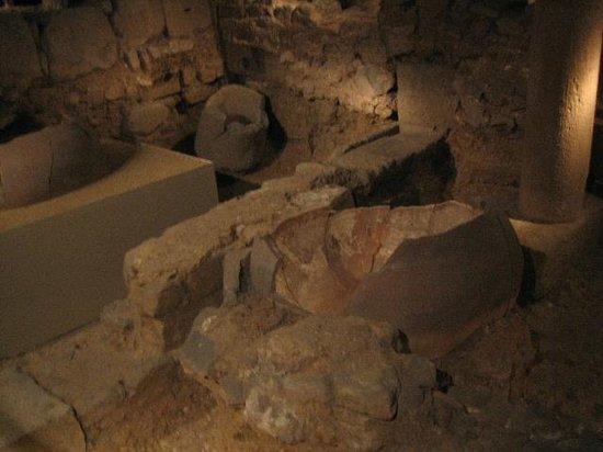 Historisches Museum der Stadt Barcelona (Museu d'Historia de la Ciutat): ワイン工場の跡