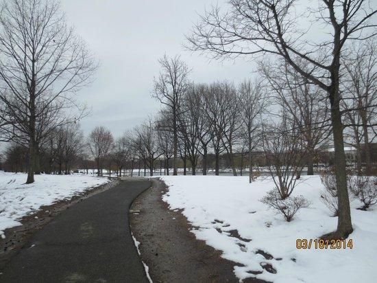 Explanada Nacional: National Mall finalizando invierno