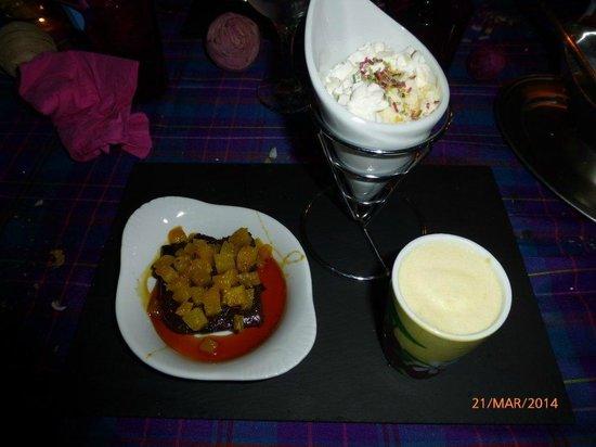 Chambres et Table d'Hôtes Annick et Francis : desserts mangue