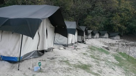 MHE Beach Camp: Spacious and comfortable tents
