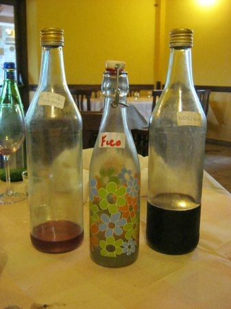 L'Occhiano: after dinner drink options
