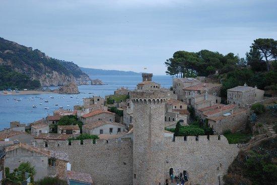 Vila Vella (Old Town): вид на бухту