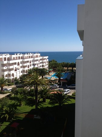 Be Smart Terrace Algarve: View from our 4th floor room