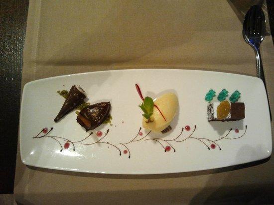 Lindner Park-Hotel Hagenbeck: Dinner Dessert