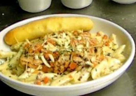 Chicken pasta dish picture of big whiskey 39 s american for American cuisine restaurants