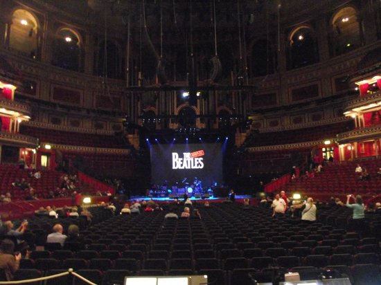 Royal Albert Hall: View from our seats