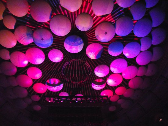 Royal Albert Hall: The 'Mushrooms' that dampen the sound