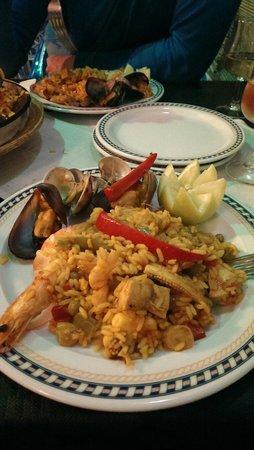 Restaurante El Capuchino 501: Paella