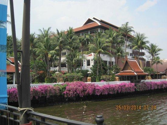 Anantara Riverside Bangkok Resort : Private pier