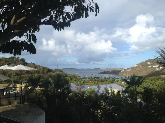 The Westin St. John Resort Villas : View from the balcony