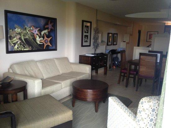 The Westin St. John Resort Villas: Living Room