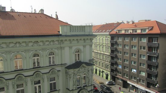 Royal Court Apartments: View from the studio apartment