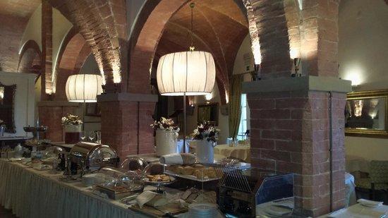 UNA Palazzo Mannaioni : vue partielle du restaurant