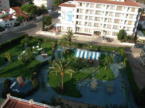 Prestige Goya Park : uitzicht kamer  8 ste verdiep