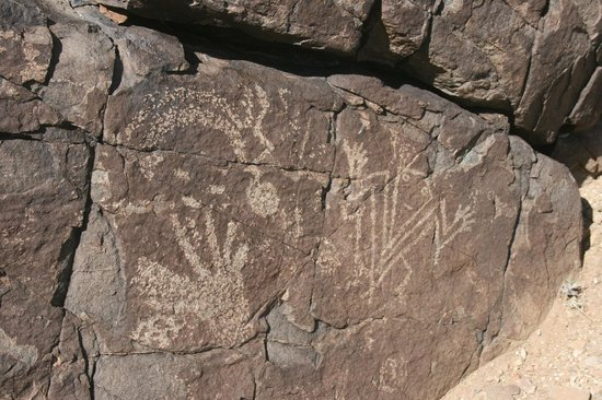 New Mexico Jeep Tours: One of the many petroglyphs found on our tour.