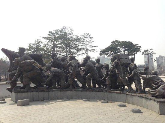Monumento de Guerra de Corea: 6