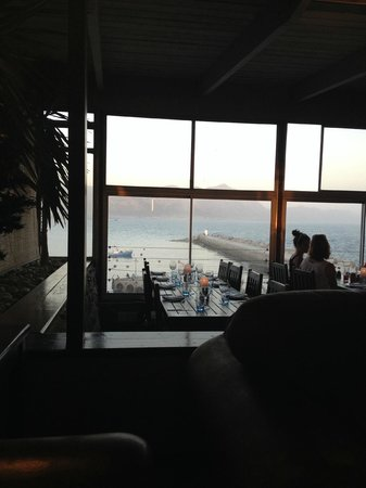 The Harbour Rock: View from restaurant
