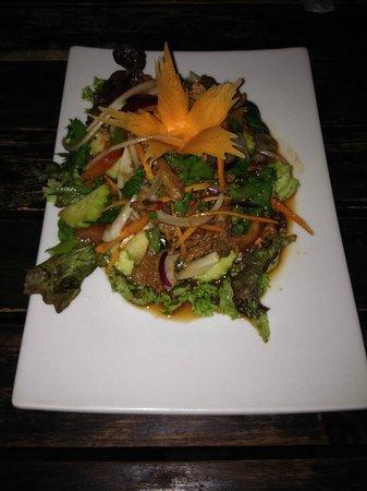 The Harbour Rock: Thai beef salad