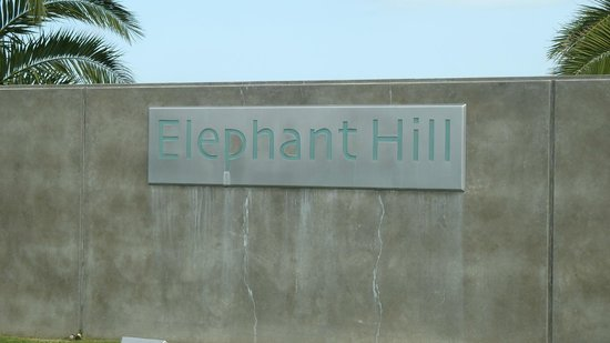 Elephant Hill : Entrance to Winery
