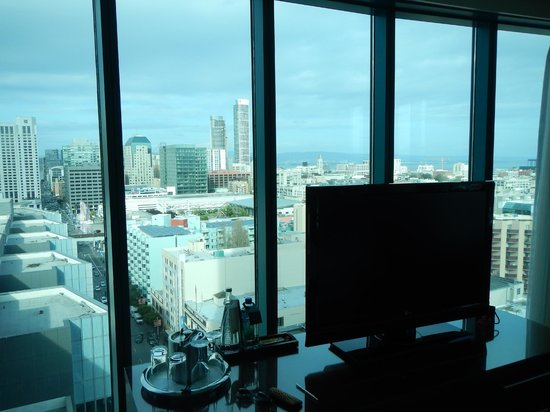 InterContinental San Francisco: Looking North East From Room 1819