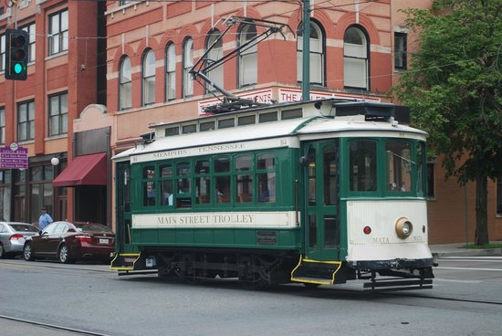 Main Street Trolley: trolley