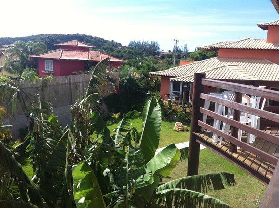 Pousada Caminho das Aroeiras : The view from my balcony