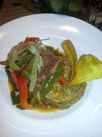 Havana Central Times Square : monfongo and ropa vieja