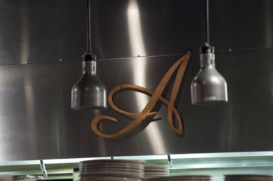 "Alodia's : The world famous Copper ""A"" On our hood."