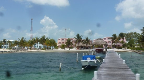Caribe Island Condos: View from pier