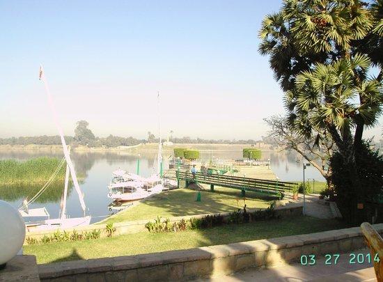 Jolie Ville Hotel & Spa - Kings Island, Luxor : view from breakfast terrace