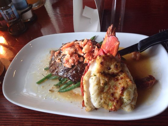 Red Lobster: Lobster and steak