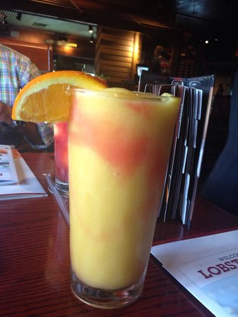 Red Lobster: Refreshing drink