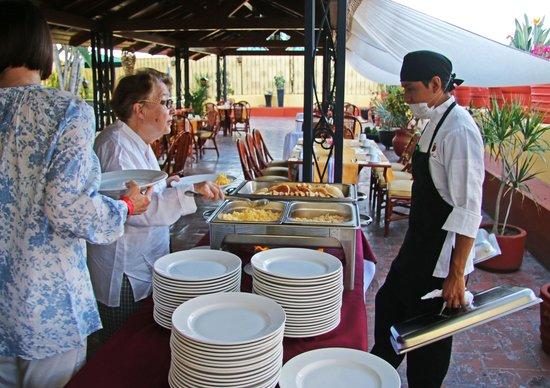 Hotel Oaxaca Real: Buffet Breakfast