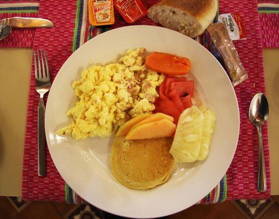 Hotel Oaxaca Real: Breakfast