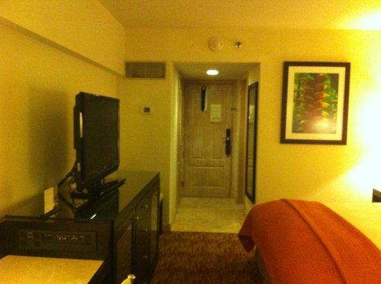Real InterContinental San Salvador at Metrocentro Mall: La habitación cuenta con un pequeño closet