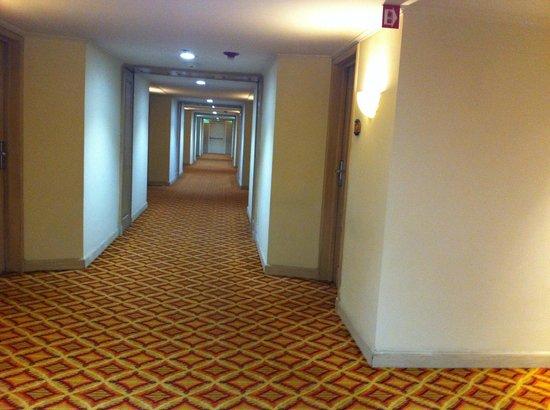 Real InterContinental San Salvador at Metrocentro Mall: Los pasillos siempre están limpios