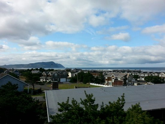 Gearhart by the Sea: Our great view from room 637