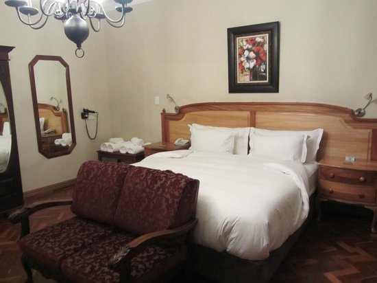 Kleinkaap Boutique Hotel : unser Bett
