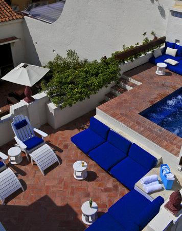Hotel Quadrifolio: Terraza Soleada