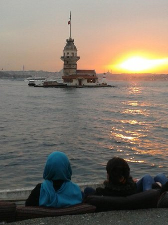 Leanderturm (Kız kulesi): The most beautiful sunset in Istanbul