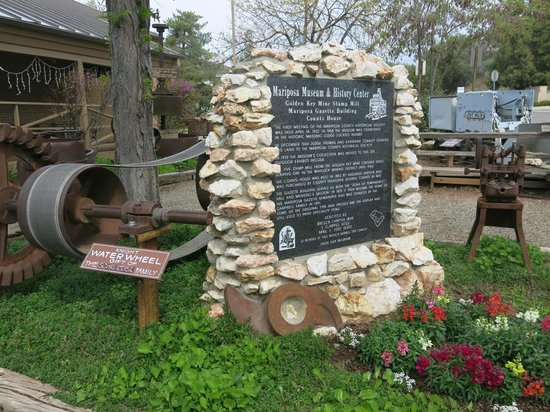 Mariposa Museum and History Center: At the entrance.